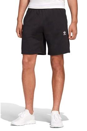 Bermuda Adidas Moletom Trefoil Essentials Preto/Branco