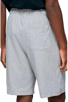 Bermuda NIKE Sportswear Club Fleece Cinza
