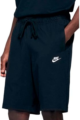 Bermuda NIKE Sportswear Club Fleece Preta