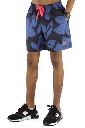 Bermuda NIKE Sportswear Floral Azul/Preta
