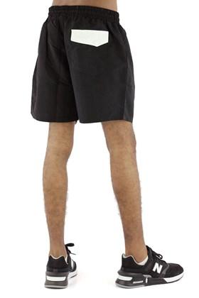 Bermuda STARTER Shorts Logo Preta/Branca