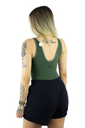 Body Fila Yatee Feminino Verde