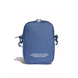 Bolsa Adidas ShoulderBag Festival Trefoil Azul/Branca