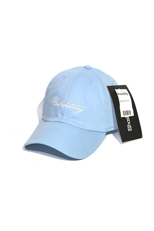 b627e6d1d0374 Boné Aba Curva Hashskatetag Strapback Azul - NewSkull