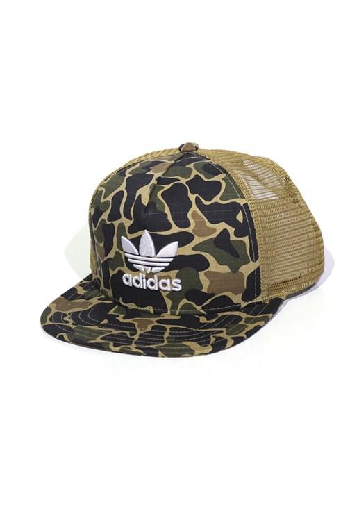 daed226bc8 Boné Adidas Trucker Camouflage Snapback - NewSkull