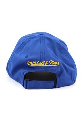 Bone MITCHELL AND NESS Golden State Warriors Flexfit 110 Strapback Azul