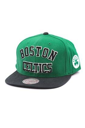 Bone MITCHELL AND NESS NBA Boston Celtics Snapback Verde/Preto