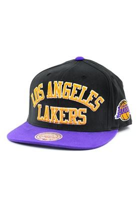 Bone MITCHELL AND NESS NBA Los Angeles Lakers Snapback Preto/Roxo