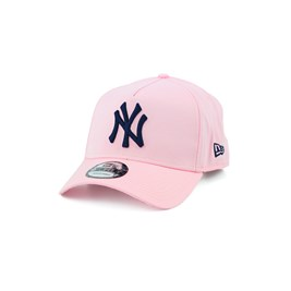 BONE NEW ERA 940 NEW YORK YANKEES MLB SNAPBACK ROSA/PRETO