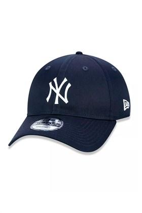 BONÉ NEW ERA 940 NEW YORK YANKEES MLB STRAPBACK AZUL MARINHO