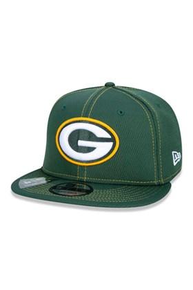Boné New Era 9Fifty Nfl Onfield Coleção Sideline Green Bay Packers  Verde
