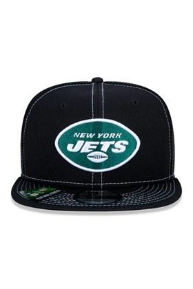 Boné New Era 9Fifty Nfl Onfield Coleção Sideline New York Jets  Preto