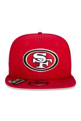Boné New Era 9Fifty Nfl Onfield Coleção Sideline San Francisco 49Ers  Vermelho