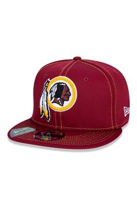 Boné New Era 9Fifty Nfl Onfield Coleção Sideline Washington Redskins Bordo