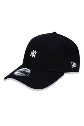 Boné New Era 9Forty Mlb New York Yankees Mini Logo Ny Preto