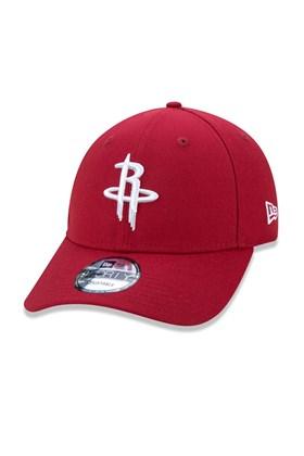 Boné New Era Houston Rockets Nba Vermelho Bordo