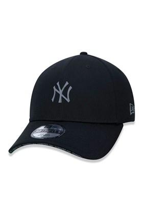 Bone NEW ERA New York Yankees 39Thirty Mlb Aba Curva Fechado Preto/Preto