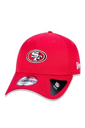 BONÉ NEW ERA SAN FRANCISCO 49ERS NFL VERMELHO