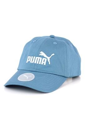 Bone PUMA Aba Curva Essential No.1 Strapback Azul Claro