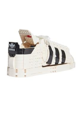 Brinquedo LEGO x Adidas Superstar Branco