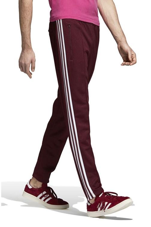 0ebb2c138 Calça Adidas Beckenbauer Track Pants Bordo - NewSkull