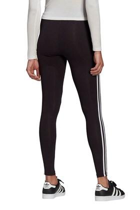 Calça Adidas Legging Adicolor Classics 3-Stripes Feminina Preta/Branca