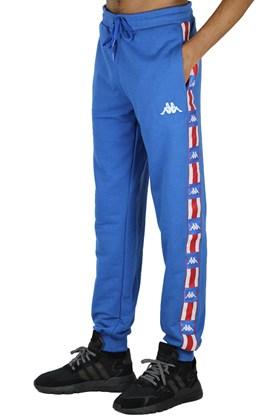 Calça Kappa Jogger Moletom Masculina Azul