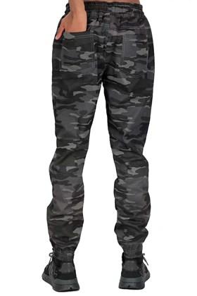 Calça NewSkull Jogger EXTRA Camuflada Cinza