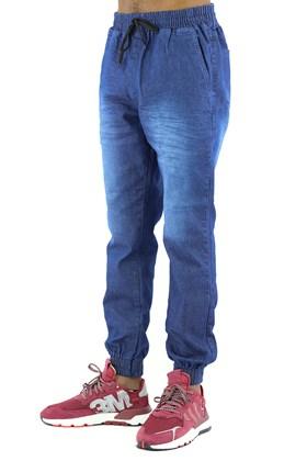 Calça NewSkull Jogger Jeans Azul