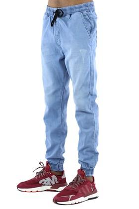 Calça NewSkull Jogger Jeans Azul Claro