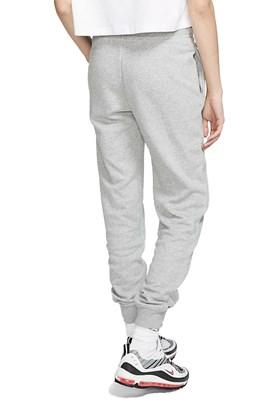 Calça Nike Moletom Sportswear Essential Feminina Cinza/Branca