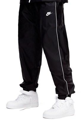 Calça NIKE Sportswear Quebra Vento Preto/Branco