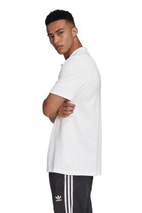 Camisa Adidas Polo Trefol Branca/Preta
