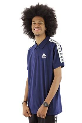 Camisa Polo Kappa Authentic Originale Due Due Azul Marinho