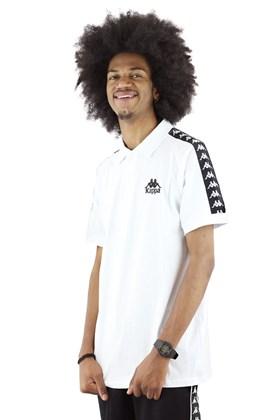 Camisa Polo Kappa Authentic Originale Due Due Branca
