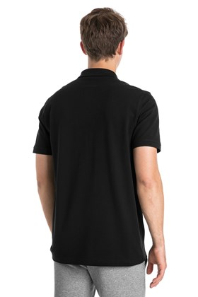 CAMISA POLO PUMA ESSENTIALS PRETO