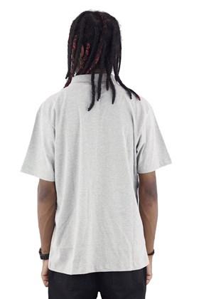 Camisa Polo Starter Listras Cinza