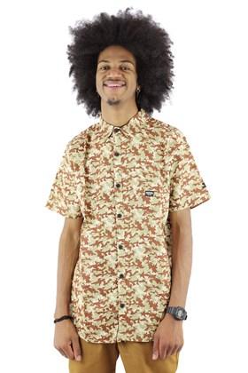 Camisa STARTER Desert Camo Manga Curta Camuflada/Bege