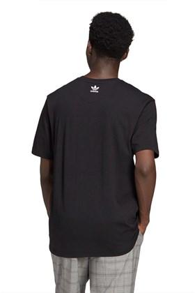 Camiseta Adidas Adicolor 3D Trefoil Preta