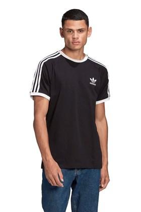 Camiseta Adidas Adicolor Classics 3 Stripes Preta