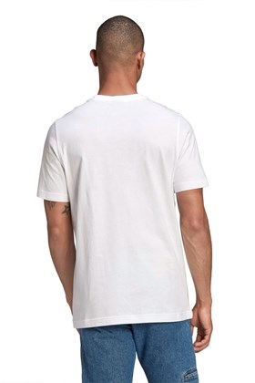 Camiseta Adidas Adicolor Classics Trefoil Branca