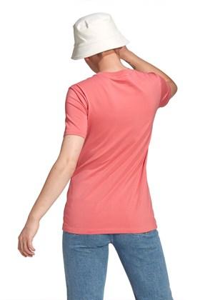 Camiseta Adidas Adicolor Classics Trefoil Feminina Rosa