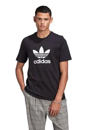 Camiseta Adidas Adicolor Classics Trefoil Preta