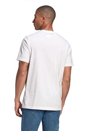 Camiseta Adidas Adicolor Essentials Trefoil Branca