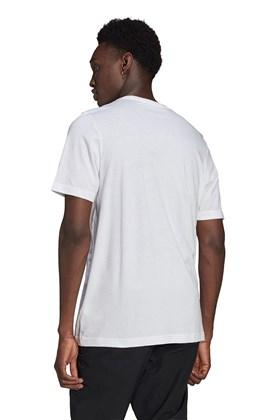 Camiseta Adidas Adicolor Essentials Trefoil Branca/Preta