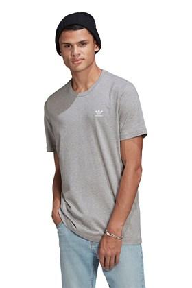 Camiseta Adidas Adicolor Essentials Trefoil Cinza/Branca