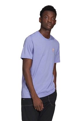 Camiseta Adidas Adicolor Essentials Trefoil Lilas/Laranja
