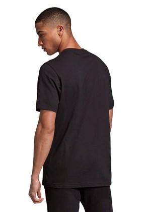 Camiseta Adidas Camouflage Trefoil Preta/Cinza