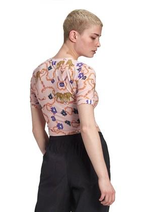 Camiseta ADIDAS Cropped Her Studio London Rosa