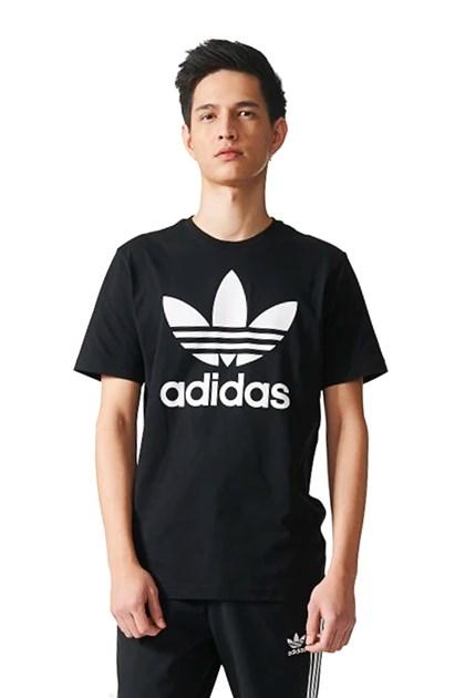 d7ea2233330 Camiseta Adidas Originals Trefoil Preto - NewSkull